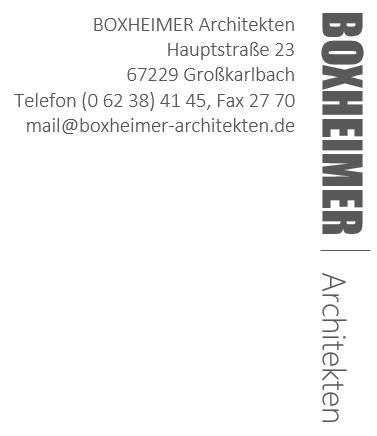 BOXHEIMER Architekten
